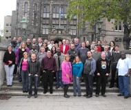 The attendees of the KohaCon12 Conference.