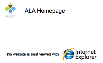 ALA Best with IE