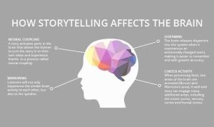 How storytelling effects the brain